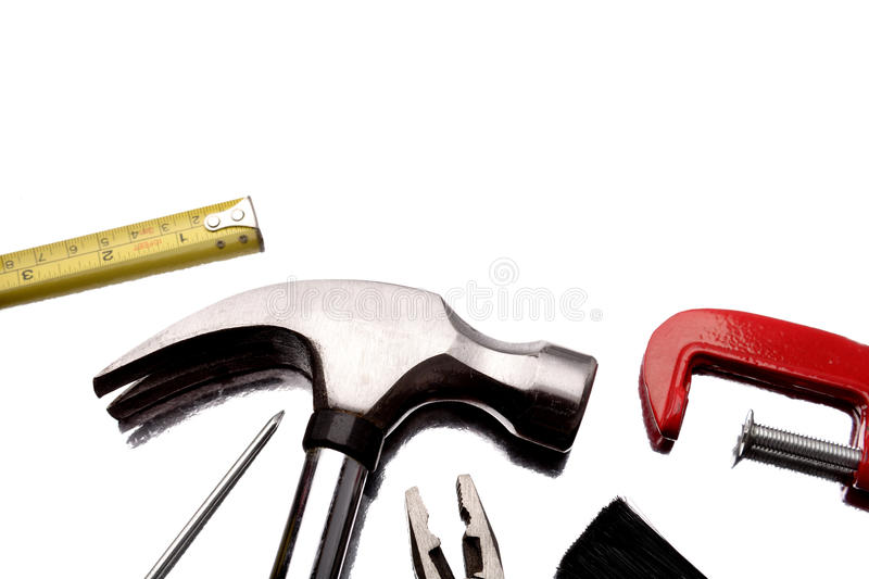 Download Tools on white stock photo. Image of selection, carpentry - 10407870