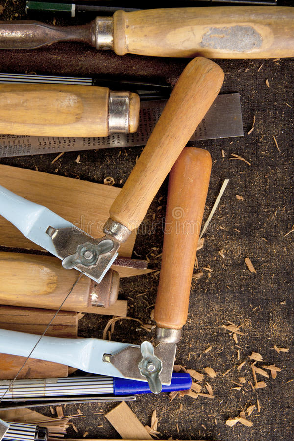 Tools-woodcraft background