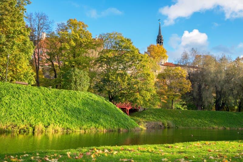 Toompark Tallinn, Estonia immagine stock