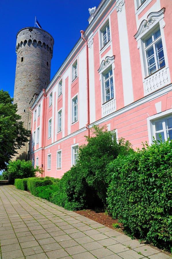 Toompea Schloss, Tallinn lizenzfreies stockfoto