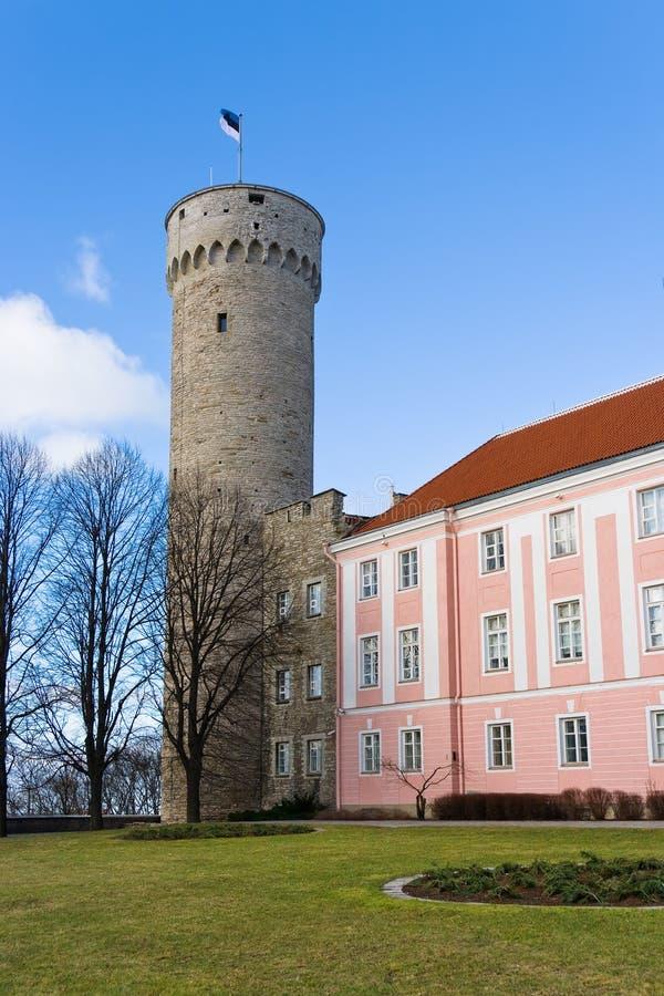 Toompea. Tallinn, Estland lizenzfreie stockfotos