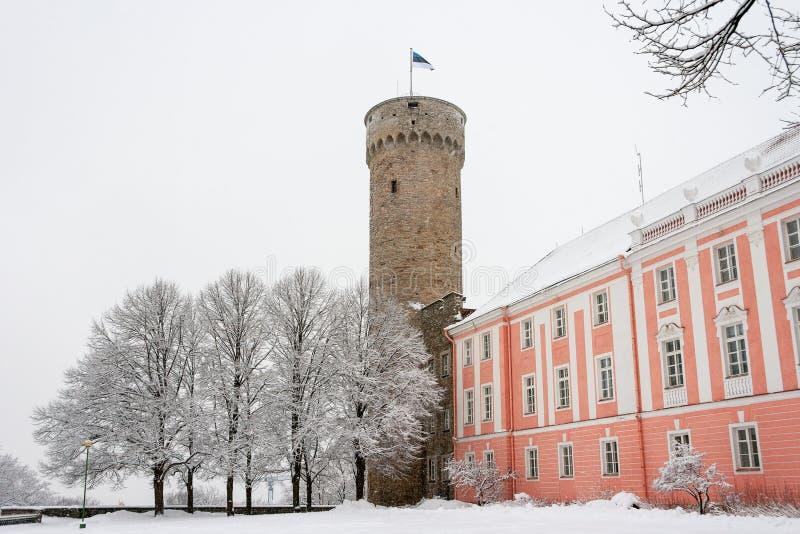 Toompea. Tallinn, Estonia obraz stock