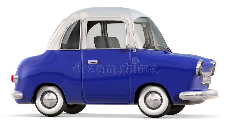 Toon-Auto lizenzfreie stockbilder