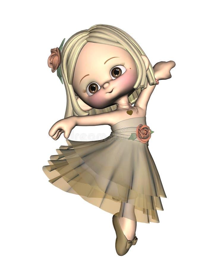 Download Toon Ballerina - 1 stock illustration. Illustration of pink - 7455453