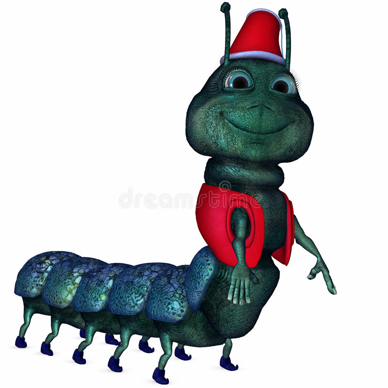 Free Toon Caterpillar Royalty Free Stock Images - 7300689