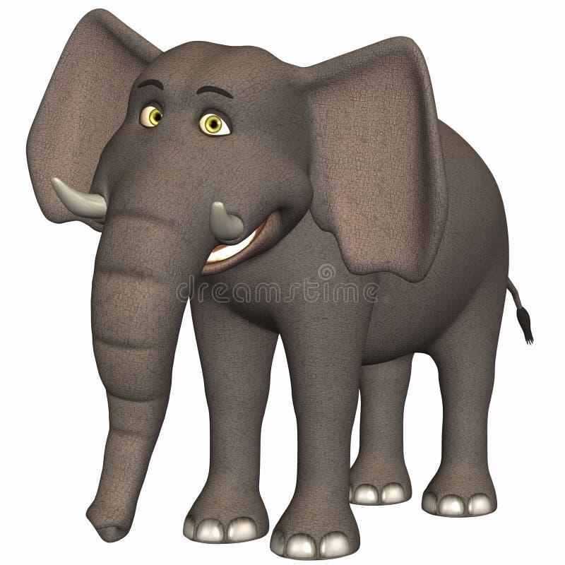 Toon Elephant stock illustration