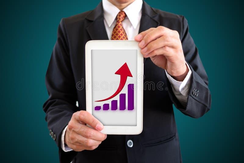 Toon grafiek royalty-vrije stock foto