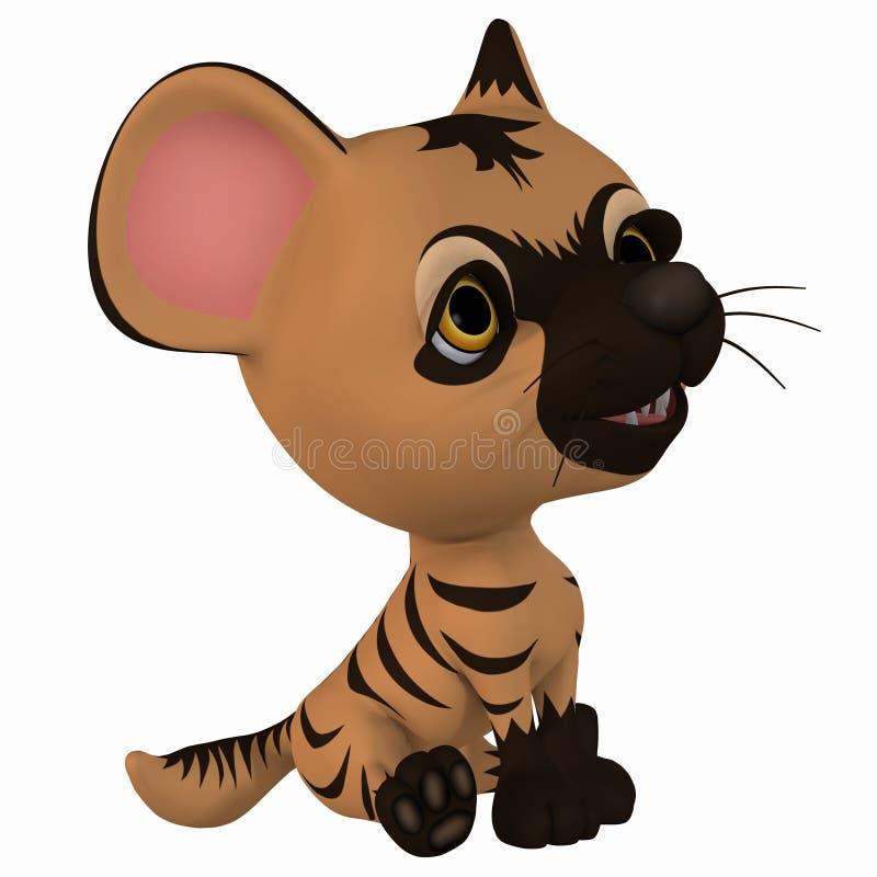 Download Toon Hyena stock illustration. Illustration of cute, anime - 18217151
