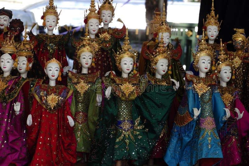 Toon model allen voor marionet (marionet) stock foto's
