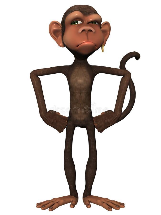 Toon Monkey libre illustration