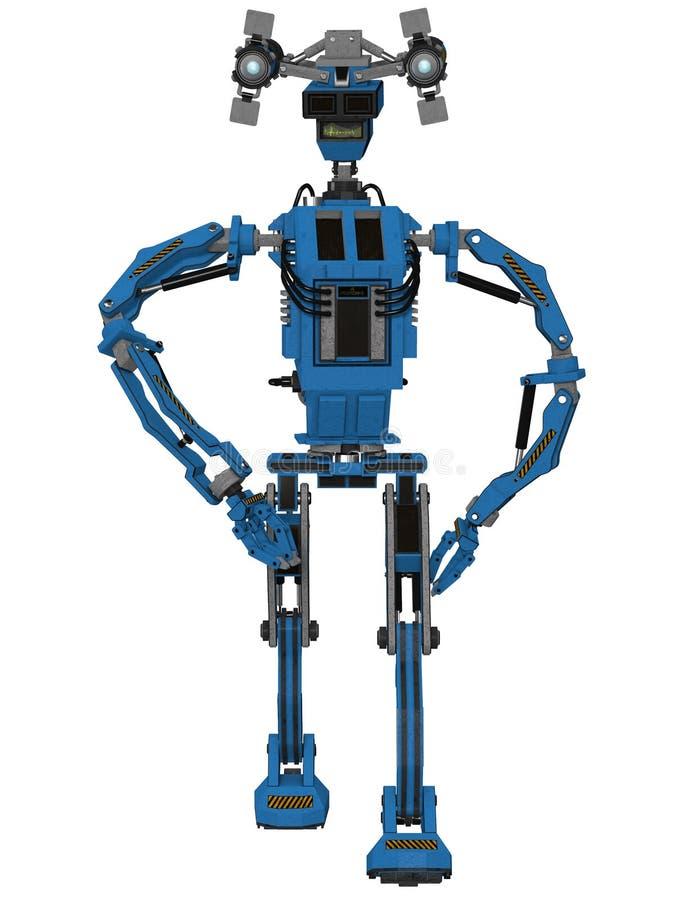 Toon robot royalty ilustracja