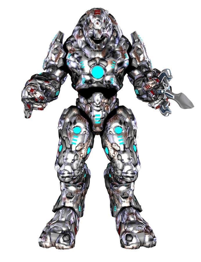 Toon Robot vector illustratie
