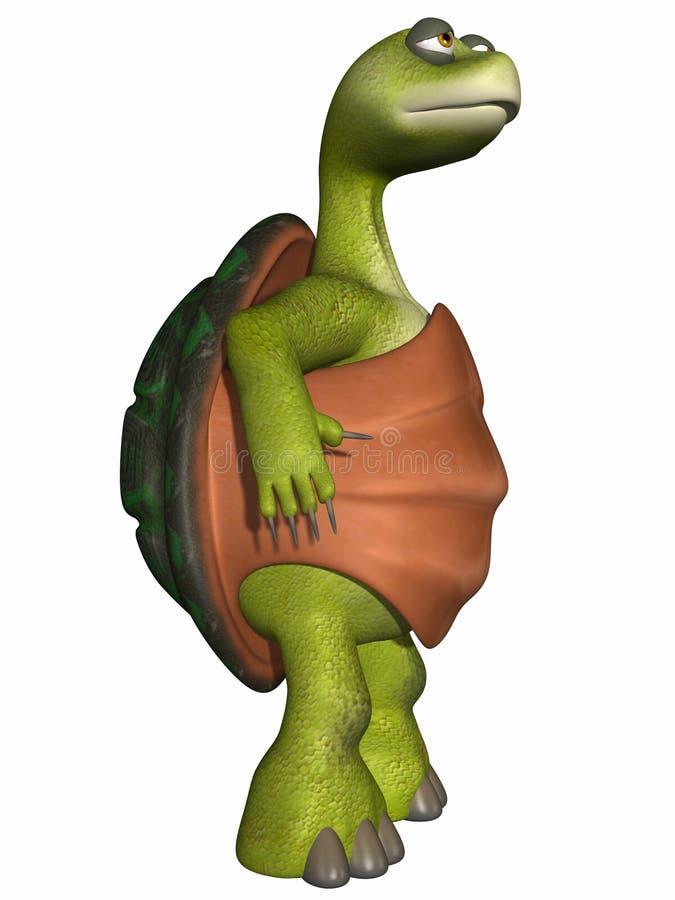 Toon Turtle vector illustratie