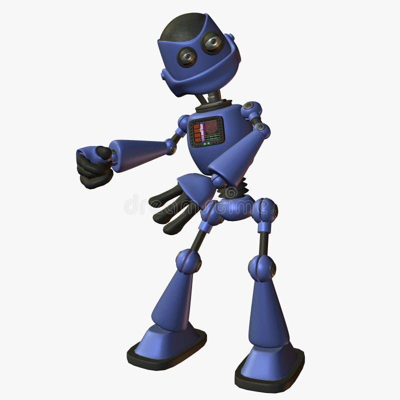 ToonBot-Roboto ilustración del vector