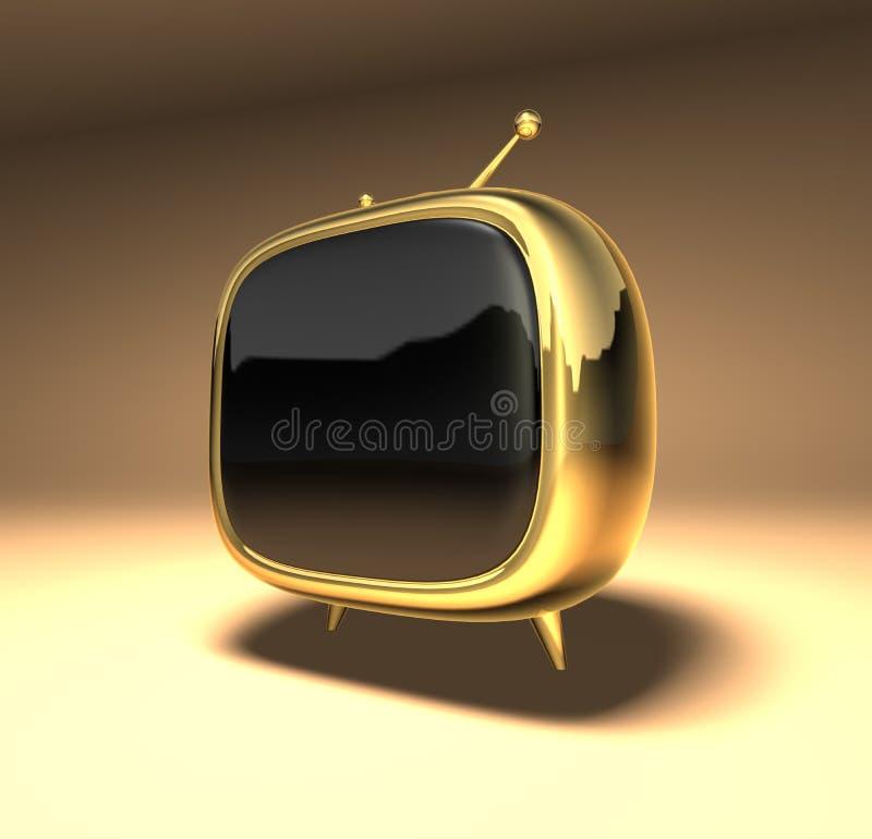Toonfernsehapparat lizenzfreies stockfoto