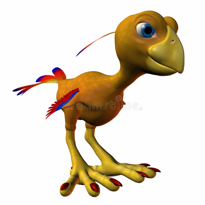 Download Toonimal Hatchling Phoenix stock illustration. Illustration of bird - 3217038