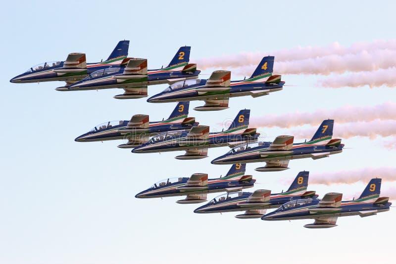 Toont de Internationale Lucht van Rome royalty-vrije stock fotografie