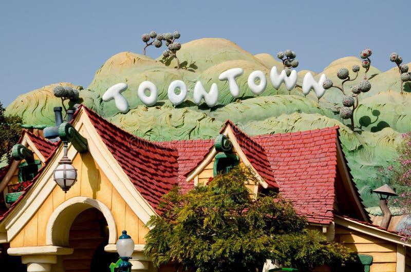 Toontown foto de archivo