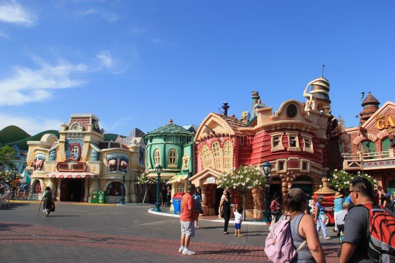 Toontown de Mickey em Disneylâandia imagens de stock royalty free