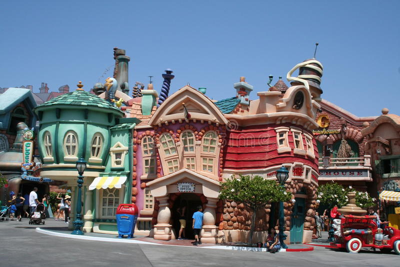 Toontown Del Disneyland Immagine Stock Editoriale