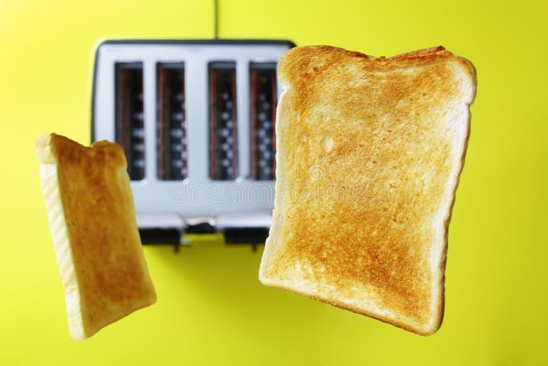 Toost of geroosterd brood stock afbeelding