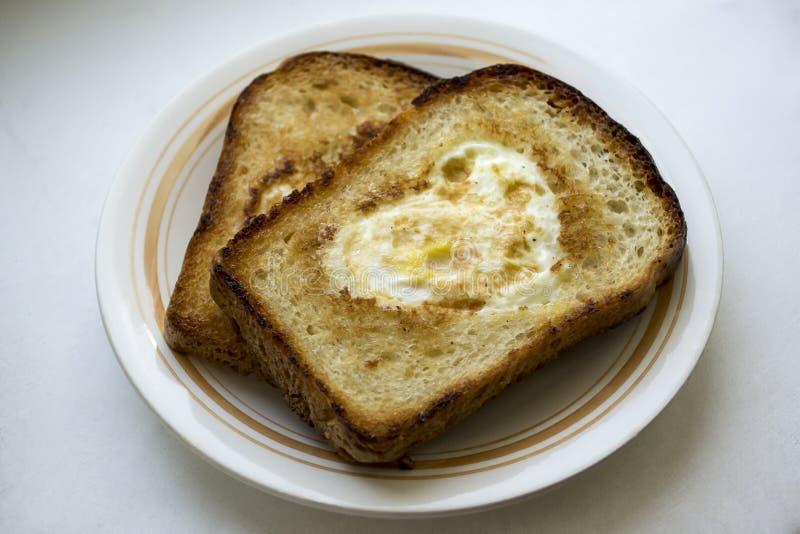Toost voor ontbijt stock afbeeldingen