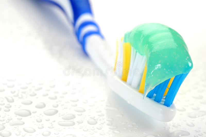 Tootbrush foto de archivo libre de regalías