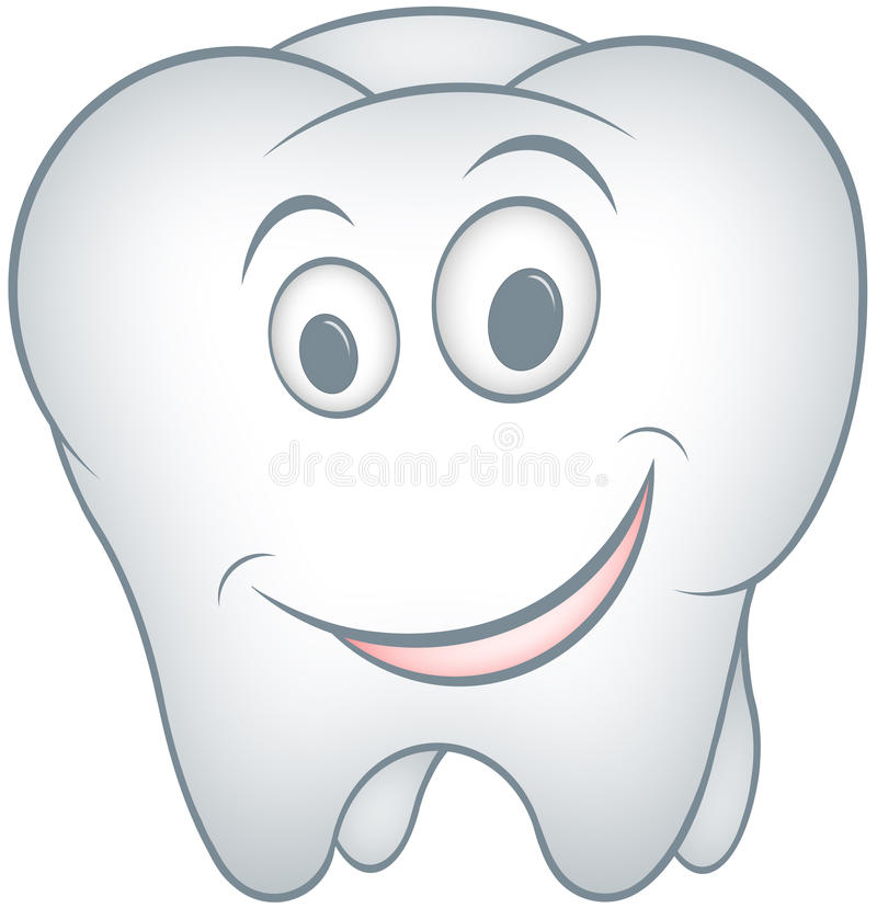 Download Tooth stock illustration. Image of isolated, character - 22996219