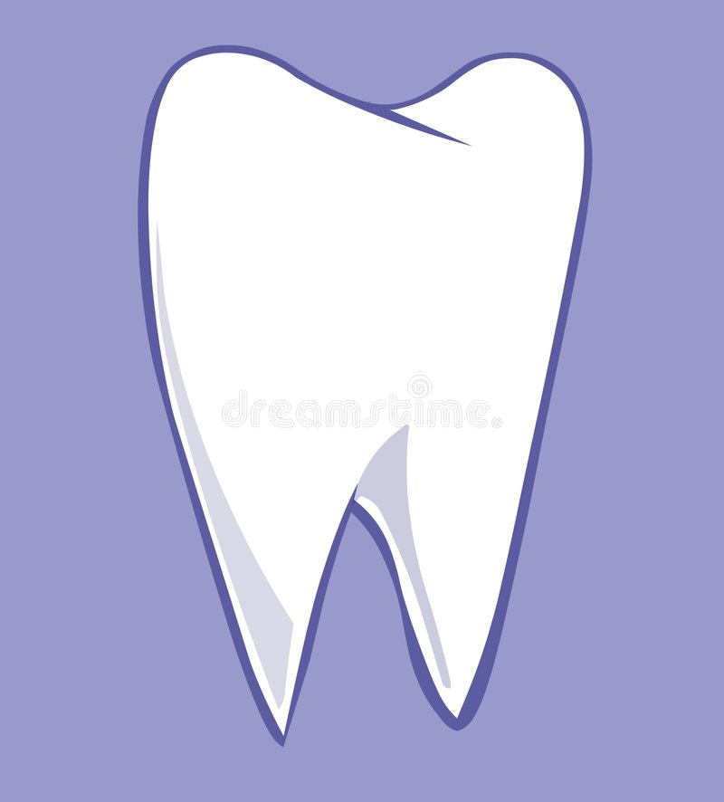 Tooth stock illustration