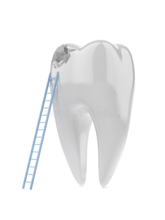 Free Tooth And Ladder Stock Images - 36001474