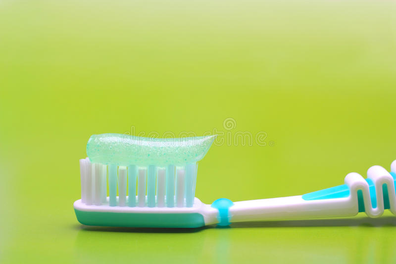 Tooth-brush stock afbeelding