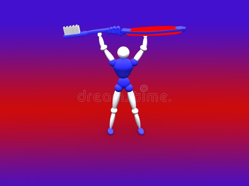 Download Tooth Brush vol 2 stock illustration. Image of render, dental - 267610