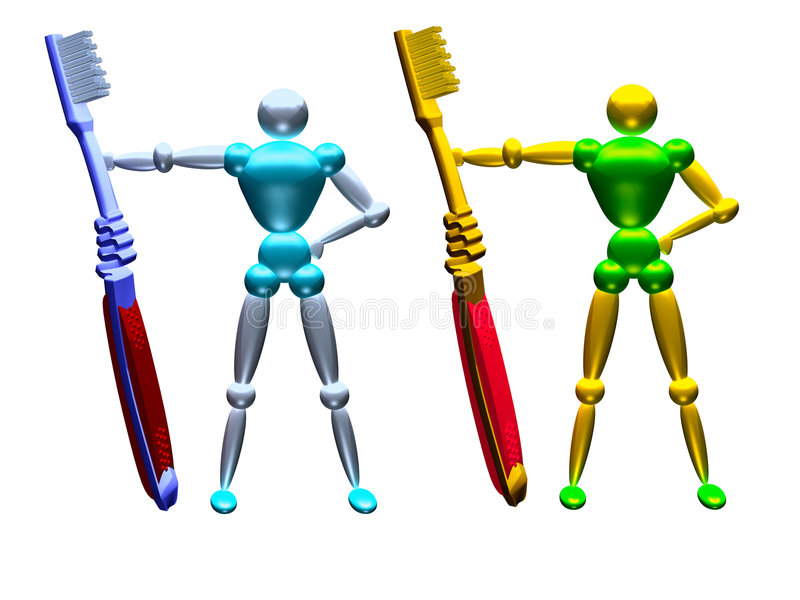 Tooth Brush Vol 3 Stock Image
