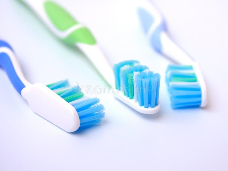 Tooth-brushes fotografia de stock