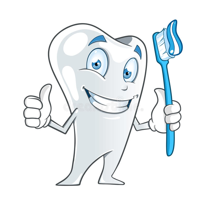 Download Tooth stock vector. Image of holding, happy, hygiene - 33029981