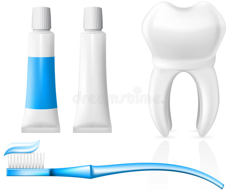 Download Tooth And Dental Hygiene Equipment Royalty Free Stock Photography - Image: 21337357