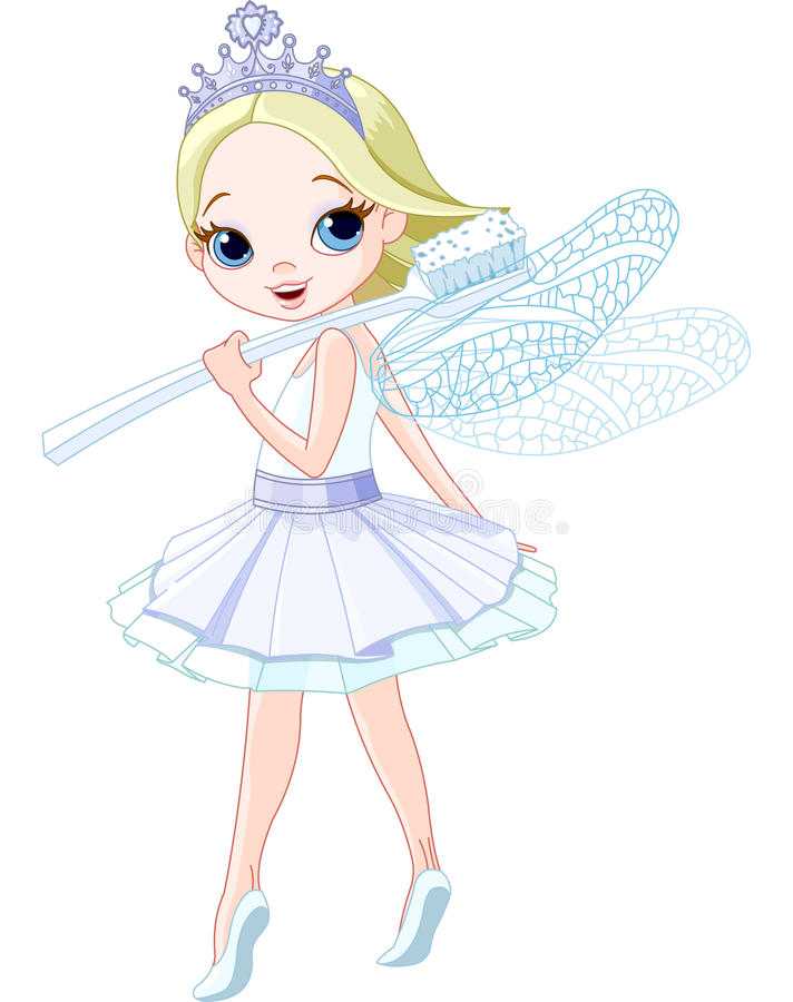 Download Tooth fairy stock vector. Illustration of flying, artificial - 30805883