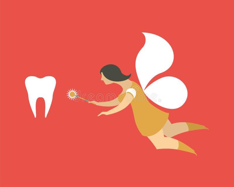 Tooth fairy stock illustration