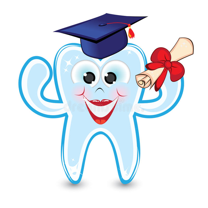 The tooth is a graduate of