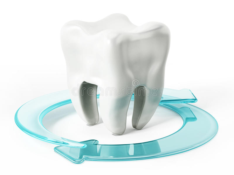 Tooth health vector illustration
