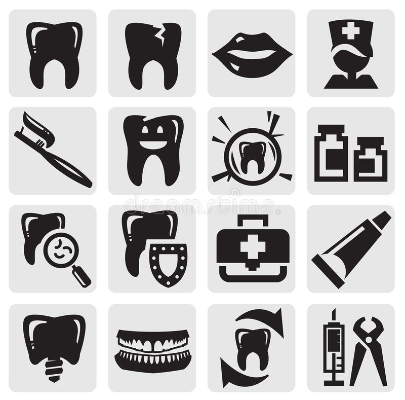 Download Tooth icon stock vector. Image of medical, root, cartoon - 26337989