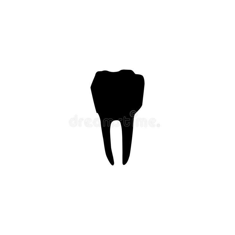 Tooth icon. Dental hospital symbol. Design, care, dentist, dentistry, icon, vector, dental, tooth, symbol, isolated, stomatology, hygiene, medicine, health vector illustration