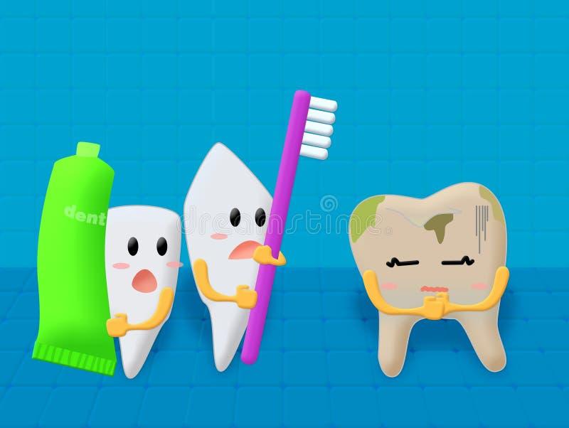 Toothache ilustracja wektor