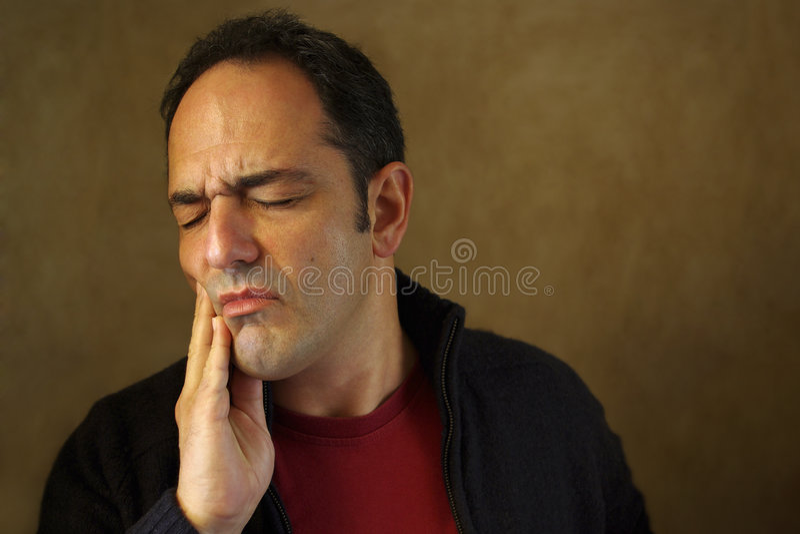 toothache стоковые фотографии rf