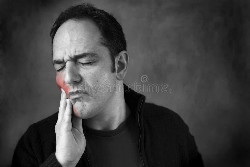 Toothache foto de stock