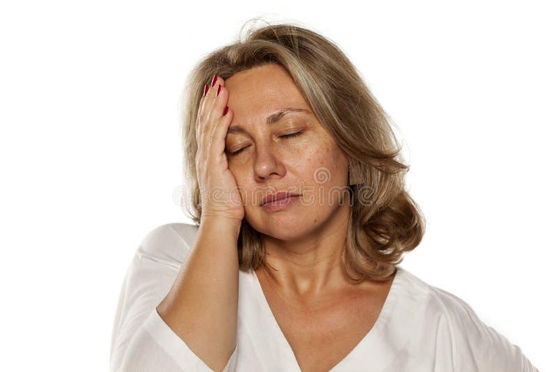 Toothache стоковое изображение rf