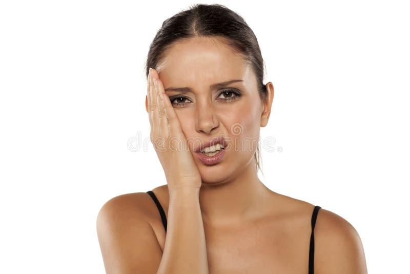 Toothache стоковое фото rf