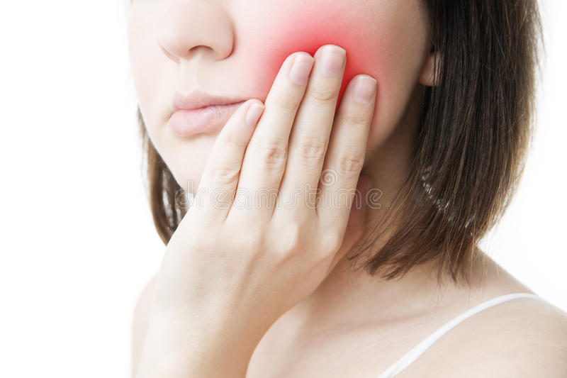 Toothache stock images