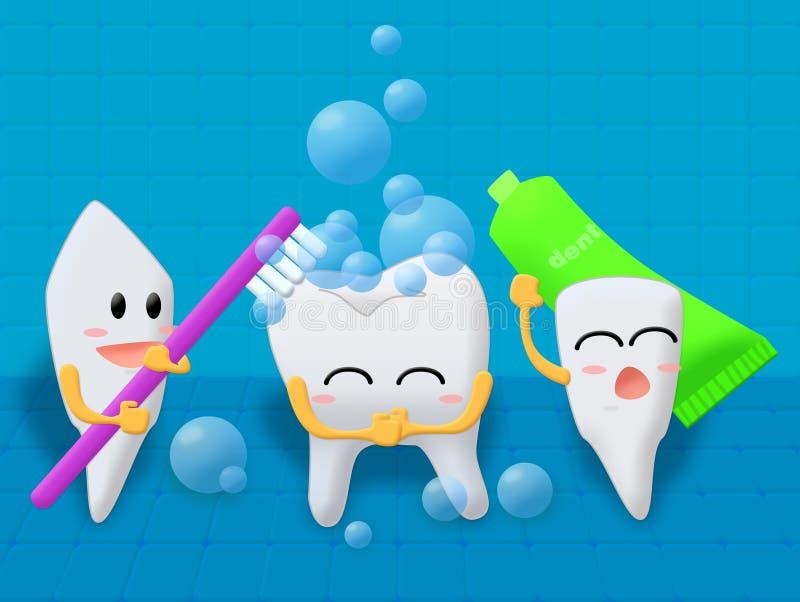 Toothbrush ilustracja wektor