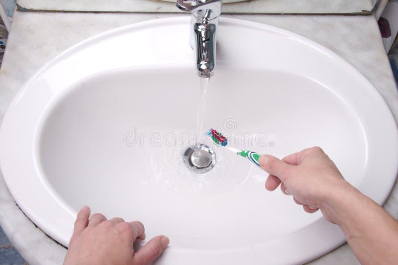 Toothbrush 3 fotografia stock libera da diritti